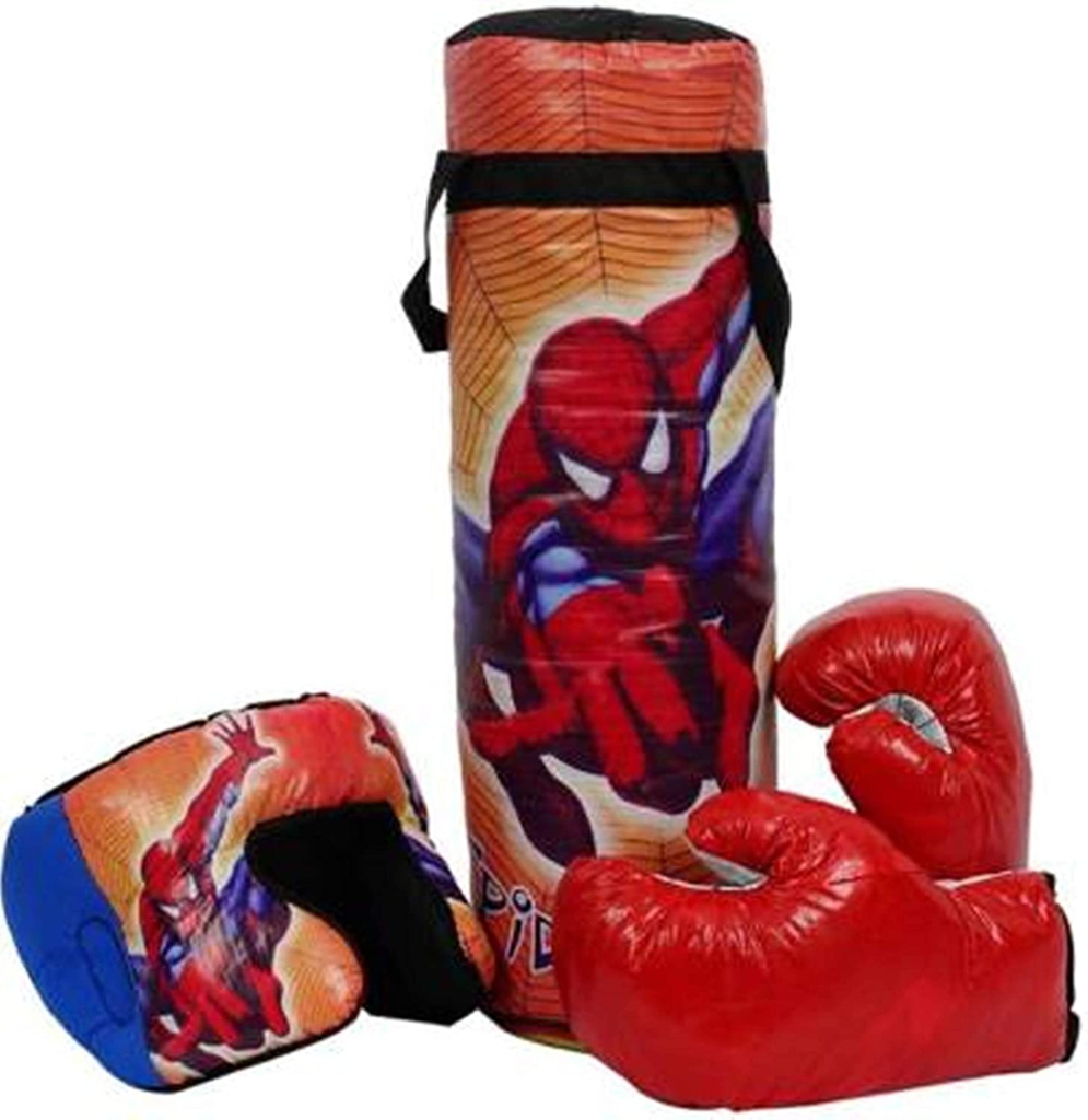Exclusive Spiderman Boxing Punching Bag Kit